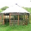 Round house taking shape
